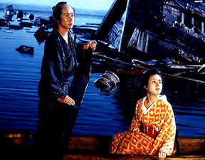 The Sea is Watching (Umi wa miteita, 2002) -- impending storm
