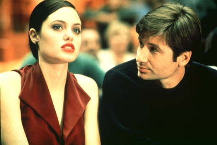 Playing God -- Jolie and Duchovny