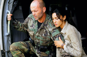 Tears of the Sun (2003) -- Bruce Willis and Monica Bellucci